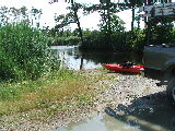 Lovitts Landing, boat launch (Kayak Virginia Beach Images © Paul Perusse)