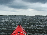 Clouds over Back Bay (Kayak Virginia Beach Images © Paul Perusse)