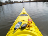 Capella on Ashville Bridge Creek (Kayak Virginia Beach Images © Paul Perusse)